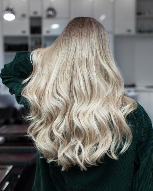 сомбре растяжка цвета волос