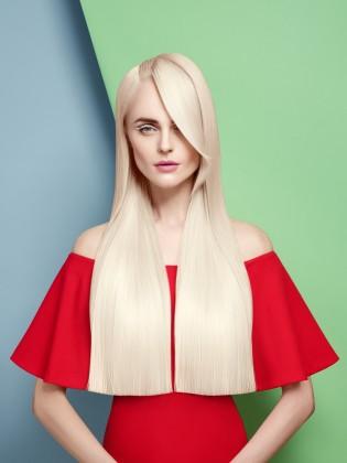 Блондирование корней